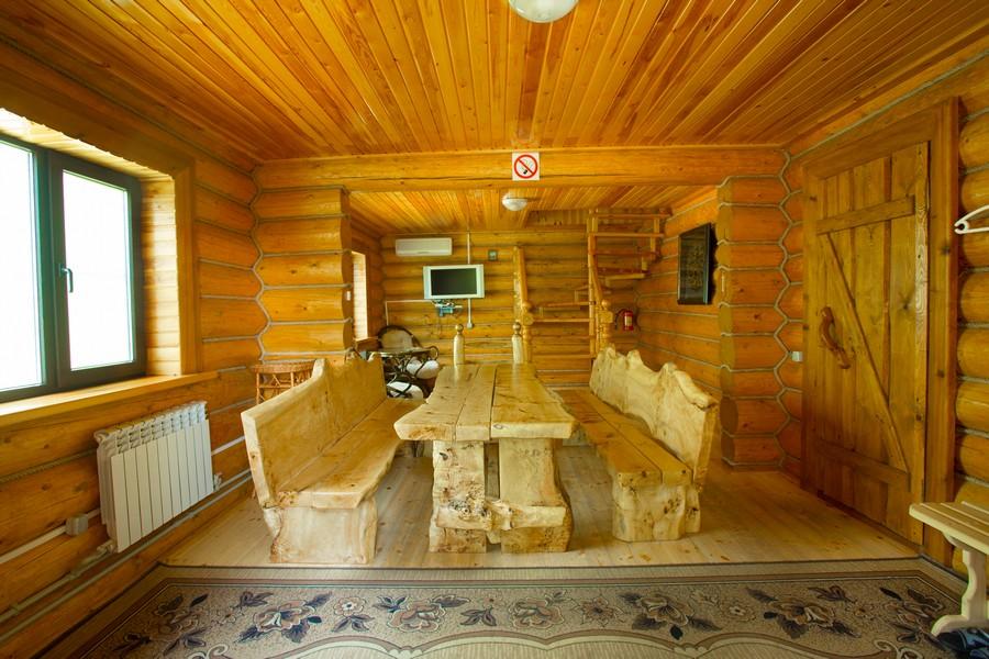 двухэтажная баня из бревна фото внутри мехом садоводе Доставка